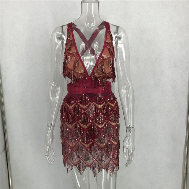 Halter Mini Dress_allurelane