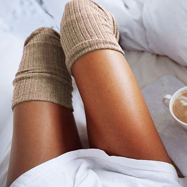 Knitted Knee Thigh Highs_allurelane