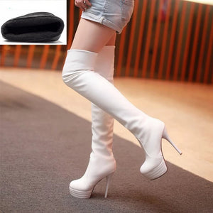Fashion Over the Knee Thigh High Boots_allurelane
