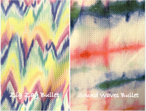 Bullet Textured Zig Zag Waves Collection Liverpool Poly/Spandex Stretch Knit Fabric