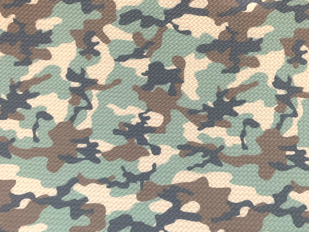 Textured Camouflage Army Liverpool Poly/Spandex Stretch Knit Fabric