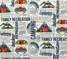 Load image into Gallery viewer, Bullet Textured Camping Collection Liverpool Poly/Spandex Stretch Knit Fabric