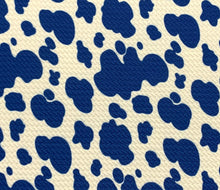Load image into Gallery viewer, Bullet Textured Cow Print Fabric (8 colors)