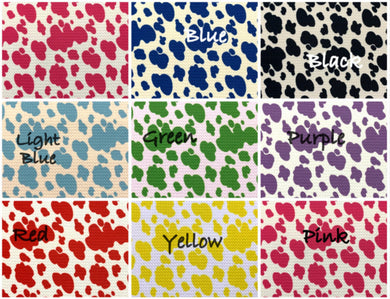 Bullet Textured Cow Print Fabric (8 colors)