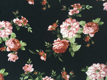 Load image into Gallery viewer, Bullet Textured Floral Collection Fabric