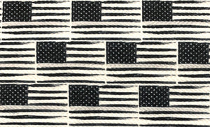 Bullet Textured Police Fire Security Military Flag Collection Fabric