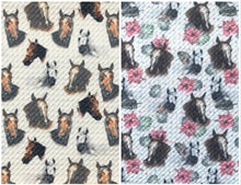 Load image into Gallery viewer, Bullet Textured Horse Collection Liverpool Poly/Spandex Stretch Knit Fabric