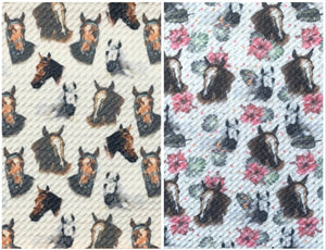 Bullet Textured Horse Collection Liverpool Poly/Spandex Stretch Knit Fabric