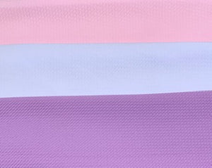 Discounted LOT Pre-Cut Fabrics! (3pc) approx 5/8 yard each Bullet Liverpool Textured Poly/Spandex Stretch Fabric