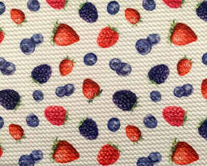 Bullet Textured Berry Collection Liverpool Poly/Spandex Stretch Knit Fabric