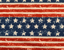 Load image into Gallery viewer, Bullet Textured Patriotic Flag Collection Liverpool Poly/Spandex Stretch Knit Fabric