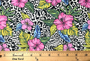 Safari Collection Spandex Swimsuit Fabric