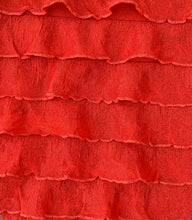 "Load image into Gallery viewer, 1"" Shimmer Ruffle Poly/Spandex Stretch Fabric By The Yard"