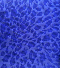 Load image into Gallery viewer, Bullet Textured Leopard Black or Royal Blue Liverpool Poly/Spandex Stretch Fabric