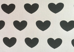 Bullet Textured Hearts Collection Fabric
