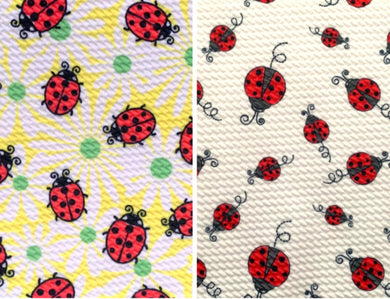 Bullet Textured Ladybug Collection Liverpool Poly/Spandex Stretch Knit Fabric