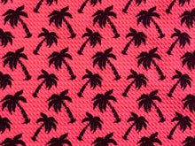 Load image into Gallery viewer, Bullet Textured Neon Pink or Yellow Palm Trees Liverpool Poly/Spandex Stretch Knit Fabric