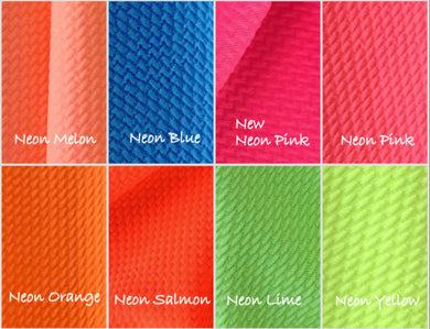 Bullet Textured Neon Collection Fabric