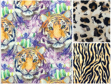 Load image into Gallery viewer, Textured Bullet Safari Collection Poly/Spandex Stretch Fabric