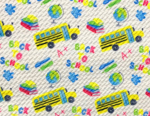 Bullet Textured Back to School Collection Liverpool Poly/Spandex Stretch Knit Fabric