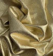 Load image into Gallery viewer, Holiday Textured Foil Poly/Spandex Liverpool Stretch Knit Fabric