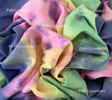 Load image into Gallery viewer, Bullet Textured Tie Dye Fabric (4 Colors)