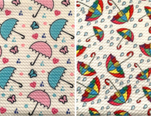 Load image into Gallery viewer, Bullet Textured Umbrella Collection Liverpool Poly/Spandex Stretch Knit Fabric