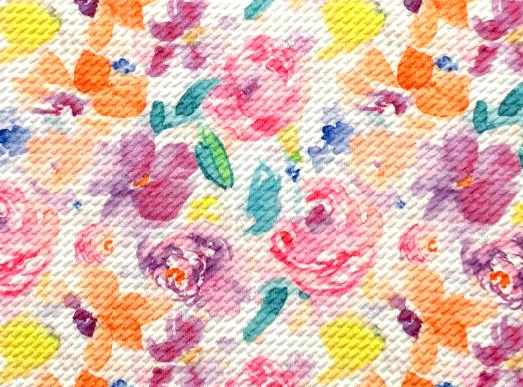 Bullet Textured Watercolor Collection Fabric