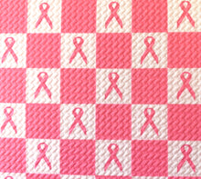Load image into Gallery viewer, Bullet Textured Breast Cancer Awareness Fabric
