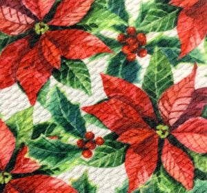 Textured Bullet Holiday Special Christmas Thanksgiving Poly Spandex Stretch Fabric