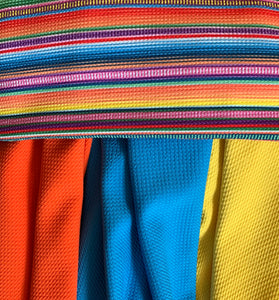 Bullet Textured New Serape Fiesta Stripe Fabric