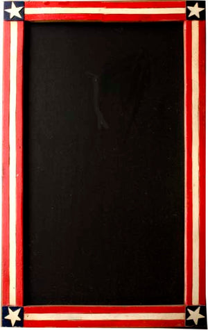 American Flag Patriotic Decor chalkboard  item 125A