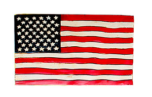 Americana Flag Decor Wall Art