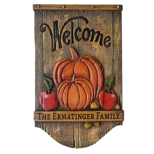 Autumn themed Home Sign