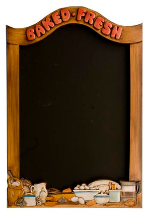 Bakery and Cafe chalkboard  Baked Fresh Chalkboard  item 1418