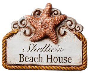 Beach House Personalized Sign item 316A