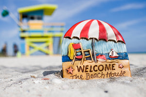 Beach House Welcome sign item 324