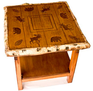 Bear Moose Accent End Table  item 1210A
