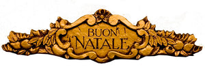 Buon Natale Italian Merry Christmas Sign item 246