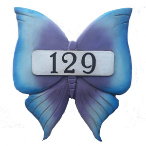 Butterfly Address or Name Sign