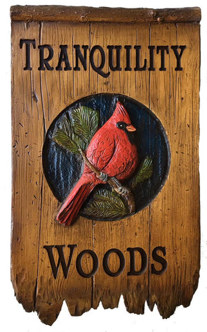 Cardinal Personalized Sign