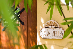 Casa Bella wall plaque for Italian and Tuscan decorating  item 646B