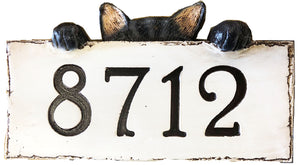 Cat Personalized Name or Address sign