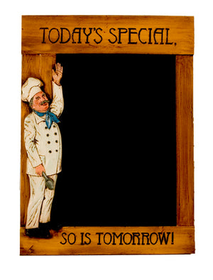 Chef Chalkboard Menu Board item 1414