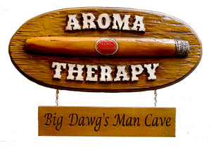 Cigar Lovers Personalized Wall Sign