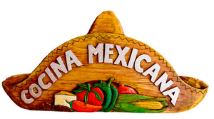 Cocina Mexicana Sign for Kitchens and Restaurants item 796B