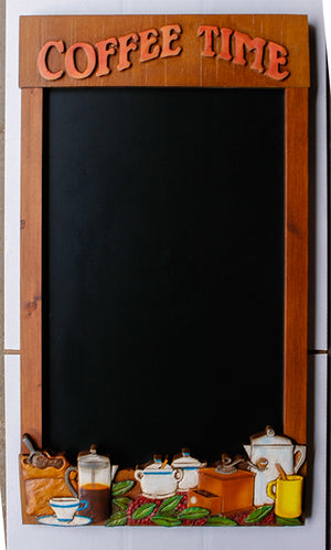 Coffee Theme Decor Chalkboard  item 554F
