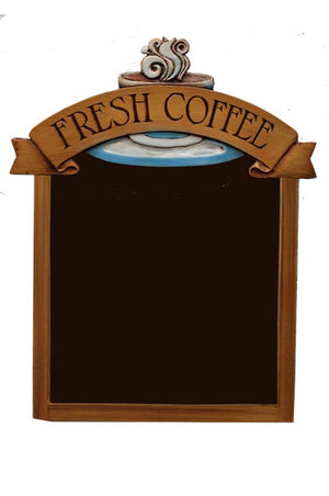 Coffee Theme Decor Chalkboard item 556AR