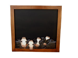 Cow Chalkboard, unique Cow theme chalkboard item 757A