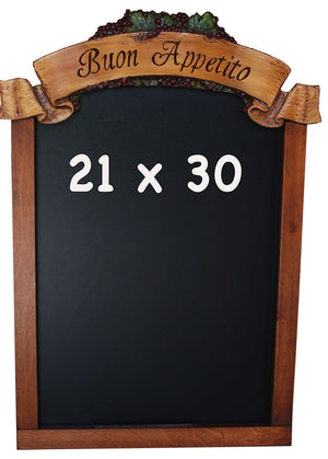 Custom Grape Wine Chalkboard